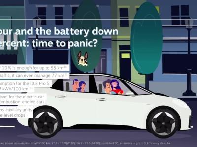 Πόσα χλμ. μπορώ να κάνω με 10% μπαταρία;