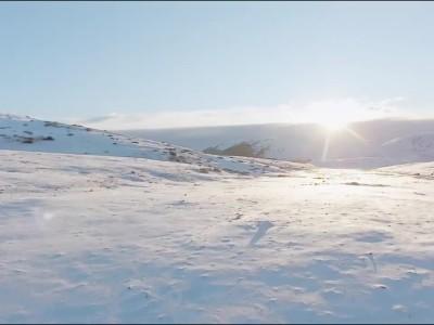 Nissan EV Winter Camper