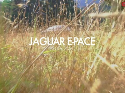 GOCAR TEST DRIVE Jaguar E-Pace P300e Plug-in Hybrid 2021