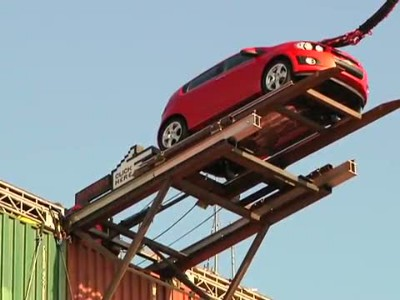 Chevy Sonic Bungee Jump