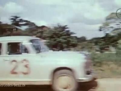 The 190 diesel on safari in Africa