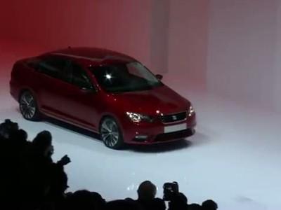 Seat Toledo Concept unveiled in Geneva